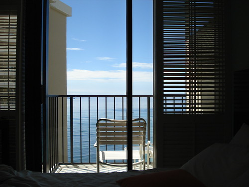 Hotel balcony, Waikiki