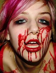zombiestrippers1053 (myla and mandi strange) Tags: blood vampire gore bloody vampires zombiestrippers zombiegirls xxmandi mandimesquita