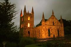 Port Arthur (photographerglen) Tags: storm church night canon scary tour outdoor spirit ghost evil australia haunted creepy spooky 100views tasmania 200views hobart 50views hauntedhouse portarthur ghosttour 50comments