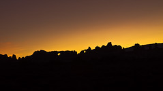 Sunrise at Arches NP (Mi Bob) Tags: sunrise canon eos utah nationalpark arches moab archesnationalpark tamron 2875mm 50d november162008