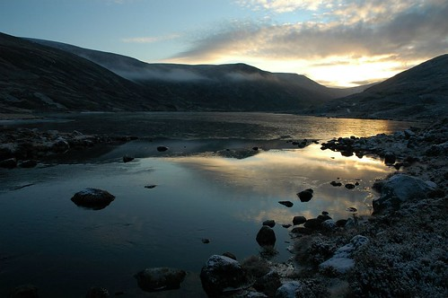 Early morning light on Loch Callater