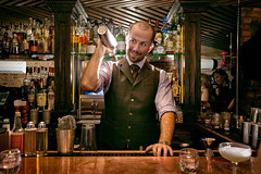 Imbibe story (sgoralnick) Tags: bar magazine photoshoot bartender imbibe speakeasy pdt jimmeehan pleasedonttell