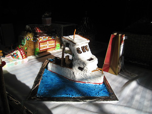 Gingerbread Festival: Lobster Boat