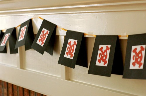 pirate flag garland by you.