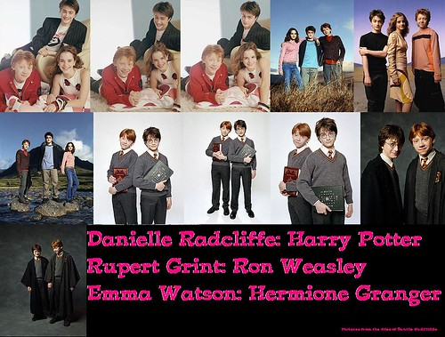 emma watson wallpapers in harry potter. Harry Potter Collage: Danielle