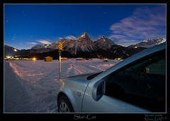 ~ Star-Car ~ (not a DRI or HDR) (Klaus_GAP™ - taking a timeout) Tags: longexposure blue winter mountain snow mountains alps car vw clouds golf stars geotagged austria nightshot berge ehrwald alpen nachtaufnahme lermoos sternenhimmel abigfave zugspitzarena theunforgettablepictures goldstaraward