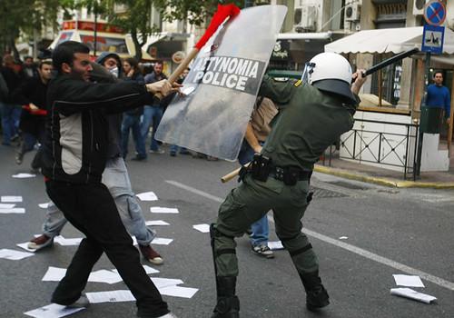 grčka prosvjedi atena athens demonstracije anarhija
