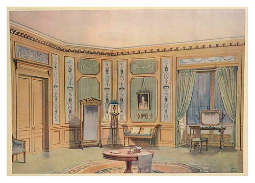 012- Antesala estilo Directorio- acuarela 1907