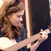 Michelle Lewis in Walden booth of 2009 winter NAMM