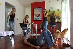 365days.  Around the house. (anna.hawaii) Tags: house me photoshop fun five testing clones 365days