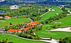 Do you like to play golf? (A. Teixeira) Tags: republica verde green golf landscape paisagem punta campo dominicana cana area caribe