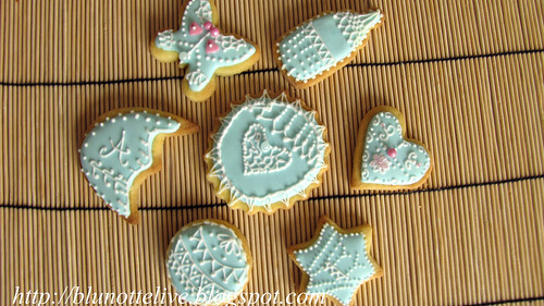 christening butter cookies