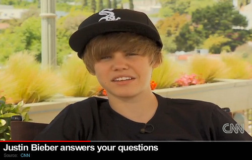 justin bieber hat on. Justin Bieber in a White Sox
