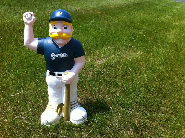 Bernie Brewer Gnome (Lawn Ornament)