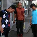 #8078 Miura, Hiroaki, and Morita in non-posing poses thumbnail