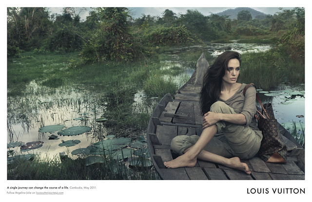Angelina Jolie for LV