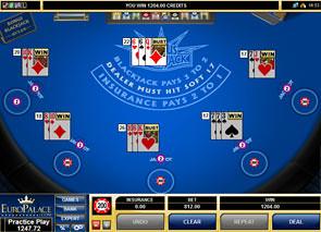 Multi Hand Bonus Blackjack