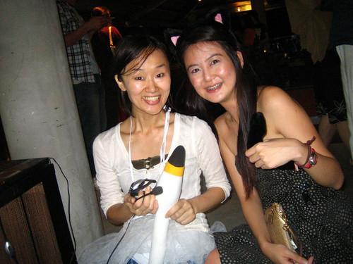 浅井さん and me
