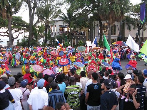 Carnval Dominicano Malecon Santo Domingo