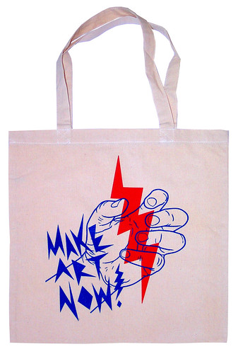 Make Art Now! (Tote Bag) / Upso