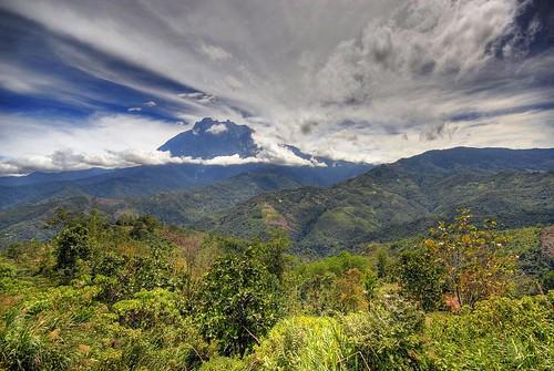 Mount Kinabalu in HDR