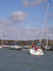 Force 6, Hamble Marina