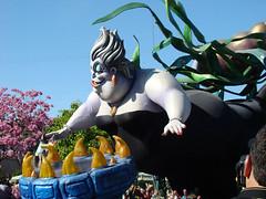 Ursula (darthasterisk) Tags: disneyland ursula littlemermaid