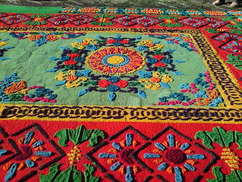 Antigua guatemala alfombras semana santa en el mundo for Alfombras el mundo