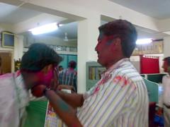 Rohit and Kiran (thecancerus) Tags: rangpanchami