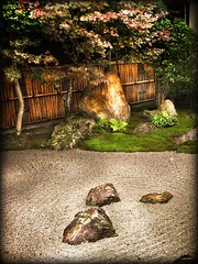 CIRCLES OF LIFE (La Zirenetta) Tags: trees tree japan gardens garden japanese sand kyoto rocks honeymoon zen nippon italians sabbia viaggiodinozze  karesansui goldstaraward