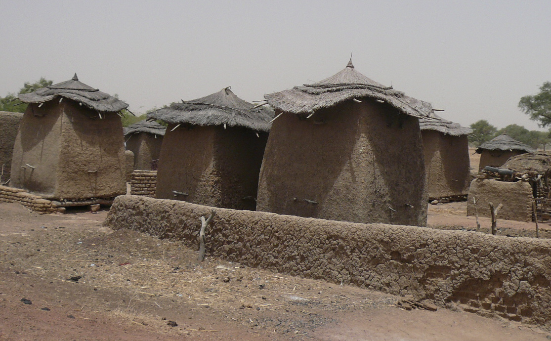 grain stores, outside djenne