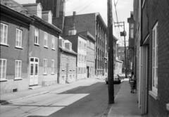 1981 Qubec summer (chapelcross) Tags: city french pentax k1000 quebec ville francais basse limoilou justpentax