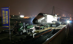 Buran in cologne #01 (cool_colonia4711) Tags: longexposure haven port truck harbor dock ship nightshot cathedral russia harbour dom cologne kln colonia su buckrogers russian hafen rhine spaceshuttle rhein schiff buran ponton sovietunion cccp nachtaufnahme speyer lastwagen lkw langzeitbelichtung technikmuseum deutz russland russisch udssr sowjetunion raumgleiter severinsbrcke schwertransport mywinners raumfhre lastenponton heavytransportation
