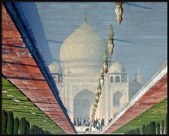 back to  India (Z Eduardo...) Tags: people india reflection water colors garden asia tajmahal agra unesco worldheritagesite tombe wonderoftheworld mugal mywinners abigfave superaplus aplusphoto theunforgettablepictures