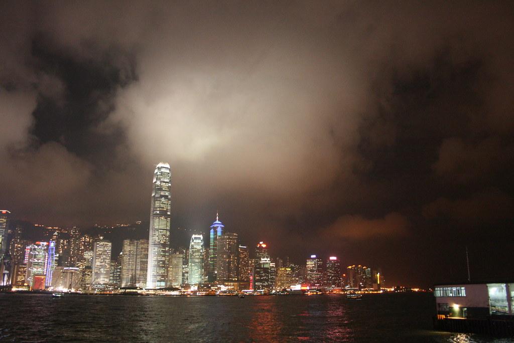 hong kong iluminado