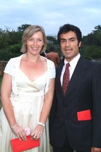 Actor Deepak Verma & Producer of 'Casualty' Sue Howells