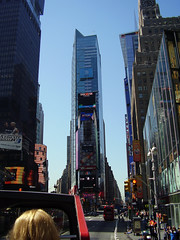 'A RIDE WITH A BUS IN THE BIG APPLE' - 'JUST NICE' ! - good weather in Manhattan New York ! (Mundilfari*) Tags: new york travel usa bus apple weather big nice with ride good manhattan just the in manhatthan a onlythebestare coolestphotographers flickrlovers