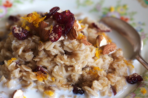 Cranberry Orange Almond Oatmeal