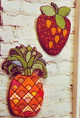 fruit hot pads by Nancy Freeman