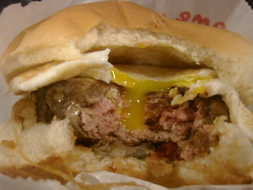 Goodburger's Breakfast Sandwich