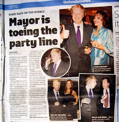 Boris on Bolly same night as Tube Booze Ban - click to see larger