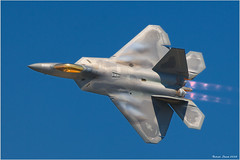 F-22 Raptor (Rob Shenk) Tags: plane canon flying aperture andrews fighter aircraft jet maryland 300mm airshow raptor stealth f22 2008 usaf jsoh f22a jsoh2008 jointserviesopenhouse
