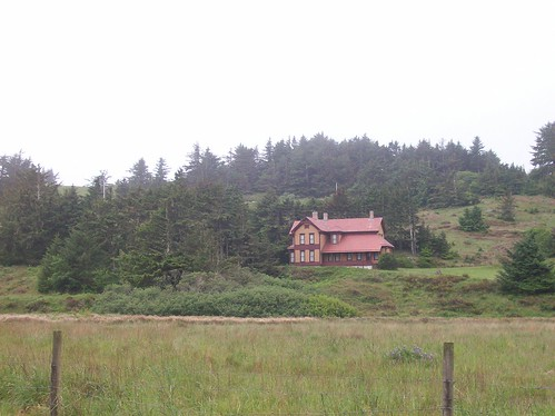 Hughes House on the Road to Cape Blanco