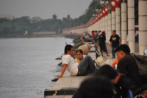 manila bay baywalk relaxing Pinoy Filipino Pilipino Buhay  people pictures photos life Philippinen  菲律宾  菲律賓  필리핀(공화국) Philippines
