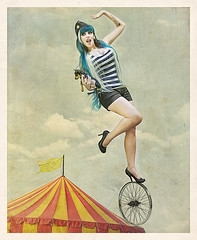cosma circus with Blacky. (Cosmashivabb) Tags: by foto vorfas highheelsart