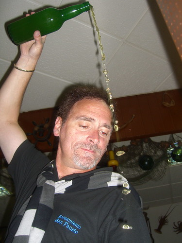 Manolo Pouring Cider