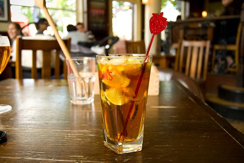 Pimms, The Pembroke Pub, Chalk Farm