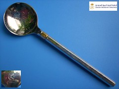 SAUDI ARABIAN 5 (diatr) Tags: inflight aviation air spoon collection airline meal airways airlines saudiarabia lffel flatware cuiller teaspoon saudia lepel airlinespoon