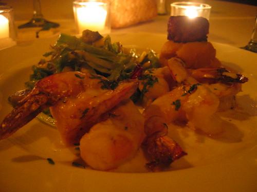 Dinner at La Palapa