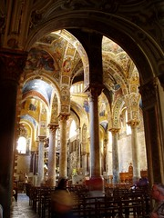 The Forest of Pillars (Aidan McRae Thomson) Tags: italy church mosaics sicily palermo martorana